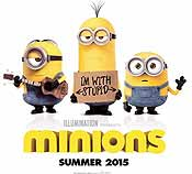 The Minions Picture Into Cartoon