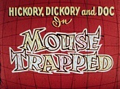 Mouse Trapped Cartoon Picture