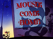 Mousie Come Home Free Cartoon Picture