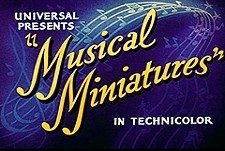 Musical Miniatures Theatrical Cartoon Series Logo
