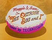 The Ostrich Egg And I Picture To Cartoon