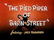The Pied Piper Of Basin Street Cartoon Picture