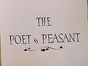 The Poet & Peasant Free Cartoon Picture