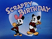 Scrappy Birthday Cartoon Picture