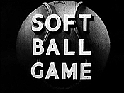 Soft Ball Game Cartoon Picture
