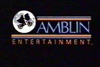 Amblin Entertainment Feature Films