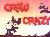 Crow Crazy Free Cartoon Picture