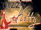 Dizzy Kitty Cartoon Character Picture
