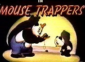 Mouse Trappers Free Cartoon Picture