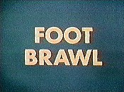 Foot Brawl Free Cartoon Picture