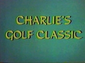 Charlie's Golf Classic Cartoon Character Picture