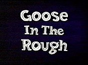 Goose In The Rough Free Cartoon Picture