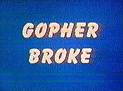 Gopher Broke Pictures Of Cartoons