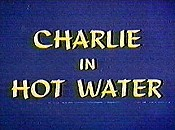 Charlie In Hot Water Free Cartoon Picture