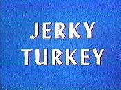 Jerky Turkey Free Cartoon Picture