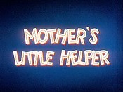 Mother's Little Helper Free Cartoon Picture