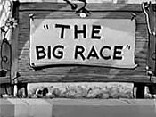 The Big Race Cartoon Character Picture