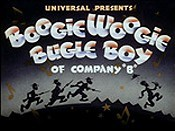 Boogie Woogie Bugle Boy Of Company