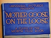 Mother Goose On The Loose Picture To Cartoon