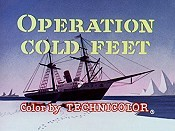 Operation Cold Feet Picture To Cartoon