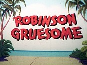 Robinson Gruesome Free Cartoon Picture