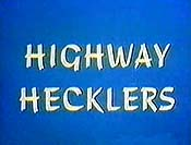 Highway Hecklers Free Cartoon Picture