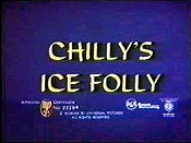 Chilly's Ice Folly Picture To Cartoon