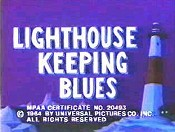 Lighthouse Keeping Blues Free Cartoon Picture