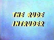 The Rude Intruder Cartoon Picture