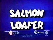 Salmon Loafer Cartoon Picture