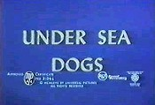 Under Sea Dogs Cartoon Picture