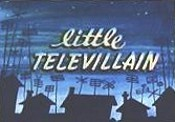 Little Televillain Cartoon Picture