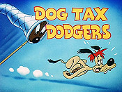 Dog Tax Dodgers Cartoon Picture