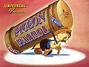 Pigeon Patrol Free Cartoon Picture