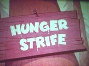 Hunger Strife Cartoon Picture