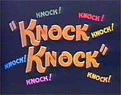 Knock Knock Cartoon Character Picture