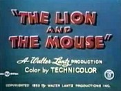 The Lion And The Mouse Picture Of The Cartoon