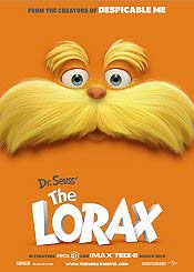 Dr. Seuss' The Lorax Picture Of The Cartoon