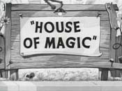 House Of Magic Cartoon Character Picture