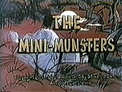 The Mini-Munsters Cartoons Picture