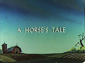 A Horse's Tale Picture To Cartoon