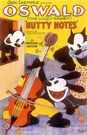 Nutty Notes Cartoon Picture