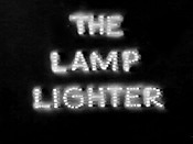 The Lamp Lighter Cartoon Picture