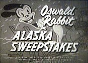 Alaska Sweepstakes Cartoon Character Picture