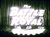 Battle Royal Cartoon Picture