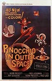 Pinocchio In Outer Space Cartoon Character Picture