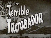 The Terrible Troubadour Free Cartoon Picture