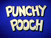 Punchy Pooch Free Cartoon Pictures