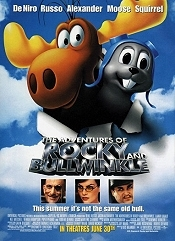 The Adventures Of Rocky & Bullwinkle Picture To Cartoon
