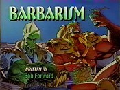 Barbarism Cartoon Picture